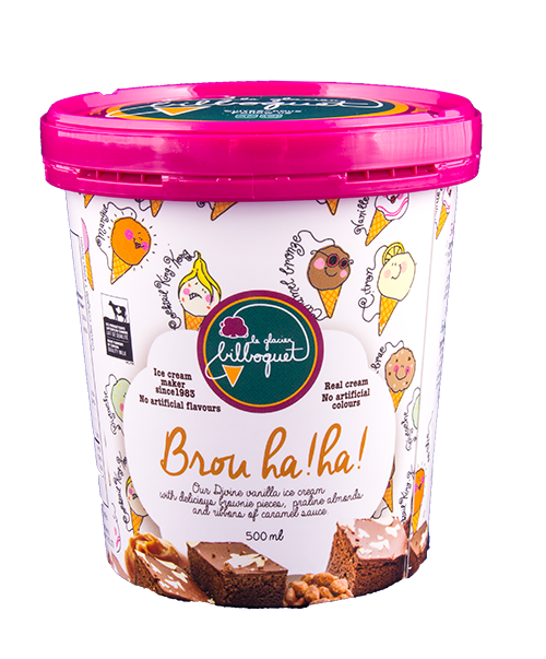 Brou Ha Ha Ice Cream - Artisanal ice cream shop, ecological, local ingredients, natural products, luxury desserts