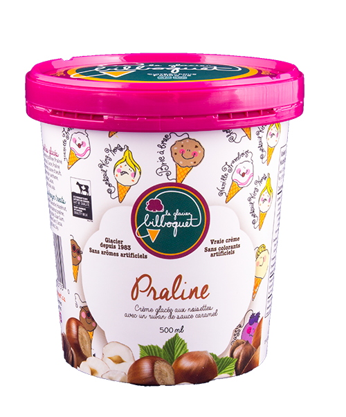 Praline Ice Cream - Manufacturers of artisanal dairy desserts, Canadian and Quebec products