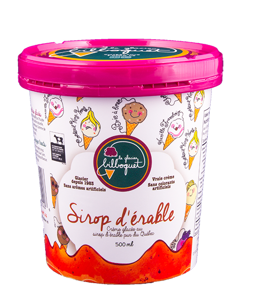 Maple Syrup Ice Cream - Best Glacier, Fine Products, quality Ice Cream
